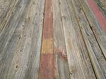 "bc# 170410 - 1"" x 4"" Antique Barnwood Faded Red - 136.00 bf"
