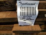 "bc# 172040 - 1"" x 5.5"" ThermalBrown Antique Lumber - 256.67 bf"