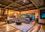 Trailblazer Skip-Planed Flooring, Antique Gray Barnwood Ceiling, WeatheredBlend Timbers