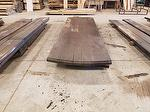 "Picklewood Table Top (Approximate Sizes:  2 5/8"" x 3' 11 3/8"" x 13'10"" at longest point--13' 3/4"" and 13' 5 1/2"" on edges)"