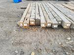 Hand-Hewn Timber Bench (Laid out for CO project)