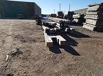 Hand-Hewn Timbers Staged to Ship (MT)