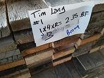 "Brown Barnwood (Edged to 3 & 5"") (TX Project) (Needs to be fumigated)"