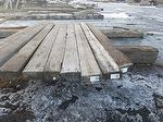 6 x 11-12 x 14-17' Smooth Weathered Timbers (Option to process 6 x 8 w/1 cut face) (AZ Project)
