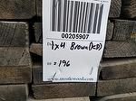 "bc# 205907 - 1"" x 4"" Antique Barnwood Brown Rough - 196.00 bf - Kiln-dried"