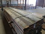 "bc# 146030 - 1"" x 7"" Antique Barnwood Gray Rough - 456.75 bf - KD, Edged"