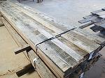 "bc# 146033 - 1"" x 5"" Antique Barnwood Gray Rough - 325.00 bf - KD, Edged"