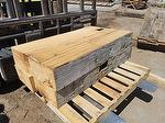 Hewn Stair Treads (1 hewn face, 3 cut faces) (NM)