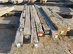 Hand-Hewn Timbers (7 x 8 x 12-14') (MT Project)