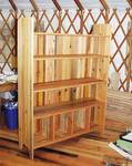 Bookcases / Bookcases built from various reclaimed wood
