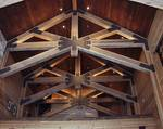 "Trestlewood II ""Salty Fir"" Reclaimed Timbers, Lumber and Poles - Mountain Cabin in Sundance, Utah"