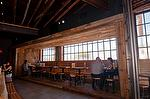 "Weathered Oak Paneling (Planed to 1/2"" thick) - Restaurant - Los Angeles, California"
