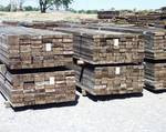 Redwood Picklewood Staves / Stacks of staves sorted by length and width