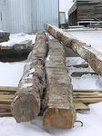 2-Sided Hand-Hewn Logs