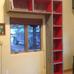 Barnwood Bookcase - New Mexico
