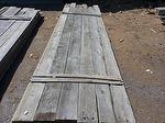 1 x 8 Gray Barnwood (Front Side)