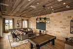 Texas Ranch - NatureAged Barnwood Ceiling, Weathered Timbers