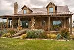 NatureAged Barnwood Siding and Decking - Texas Residence