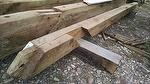 bc# 154614 - 6x10 x 12' Trailblazer Oak Weathered Timbers - 60.00 bf