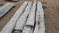 NatureAged Hand-Hewn Lumber