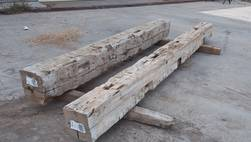 Hand-Hewn Unfinished Mantels