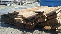 Weathered Brown 3x12-13 Timbers from Idaho Grain Elevator