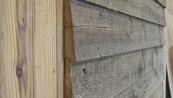 Antique Barnwood Siding -Wedgelap with Rabbet
