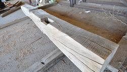 Weathered Unfinished Mantels