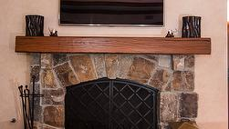 Antique Oak Finished Mantels