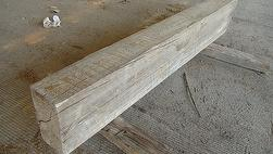 Trestlewood II Salty Fir Weathered Unfinished Mantel