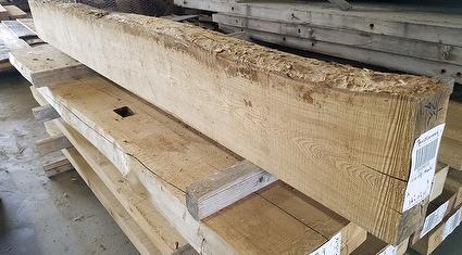 Live-Edge Unfinished Mantels
