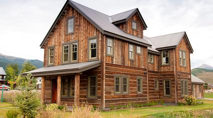 Antique Barnwood Siding - Brown