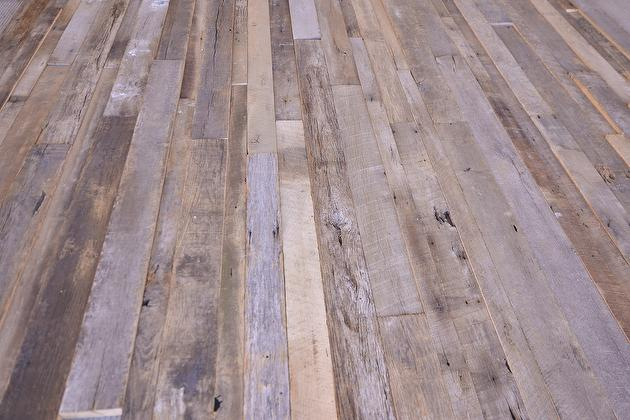 Featured Product 383 Mixed Width Weathered Oak Lumber