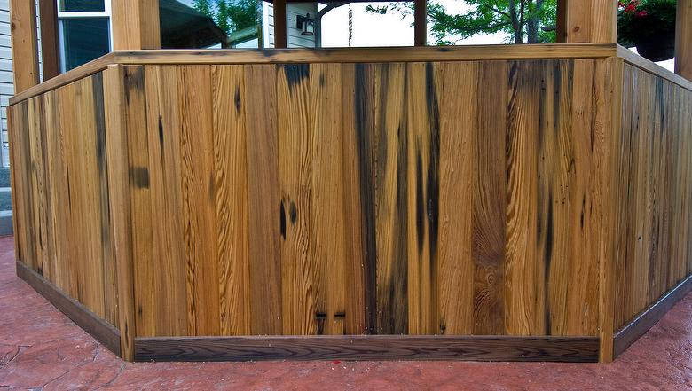 Picklewood cypress resawn lumber for Cypress siding cost