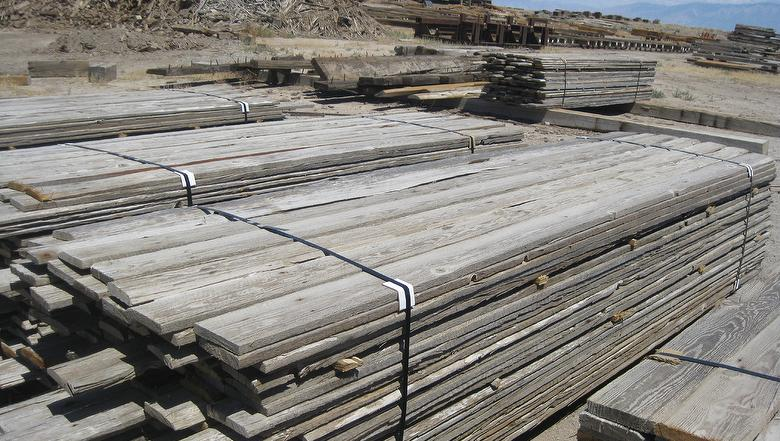 Trestlewood II Salty Fir Weathered Resawn Slabs