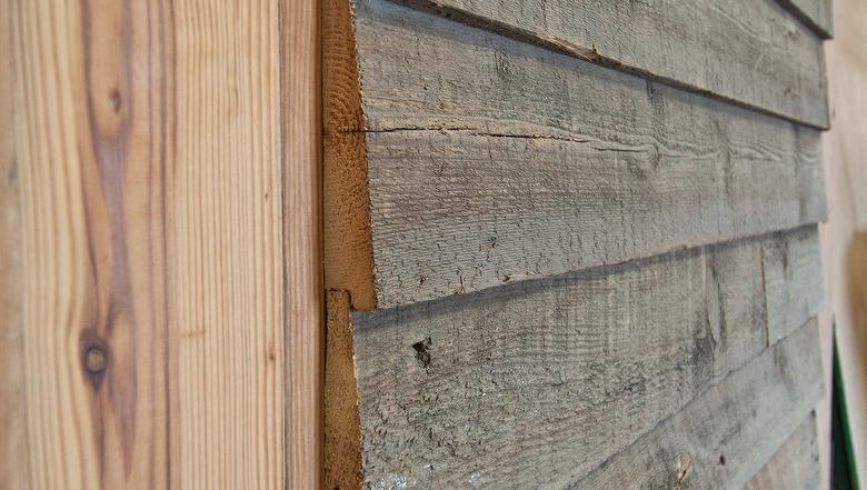 Antique Barnwood Siding  Wedgelap With Rabbet