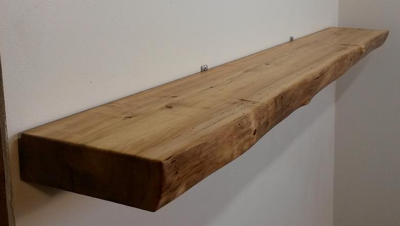 Live-Edge Mantels - Reclaimed Wood Mantel Selection Tool - Mantel Types - Trestlewood