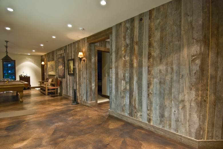 Photo 10631 Gray Barnwood Paneling