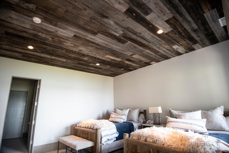 Antique Barnwood Ceiling