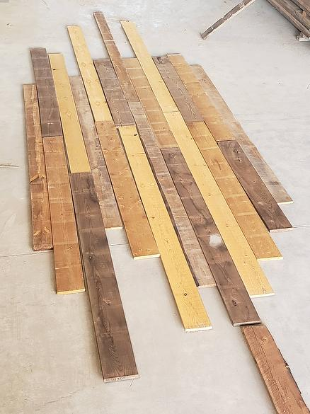 ThermalBrown Lumber (+/- 1/3 Dark / 1/3 Medium / 1/3 Light)