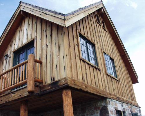photo 2042 trestle redwood siding rustic redwood