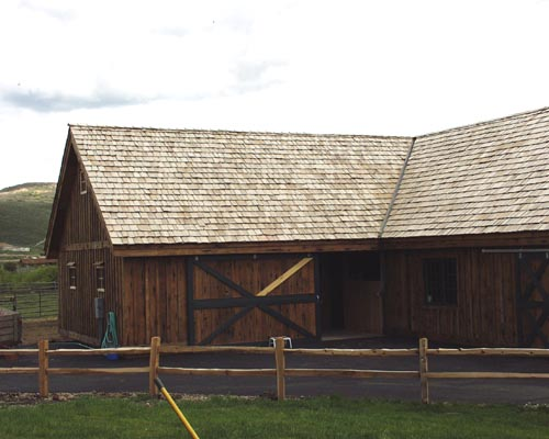 Trestle Redwood Siding / Rustic Redwood Board and Batten Siding and Trim