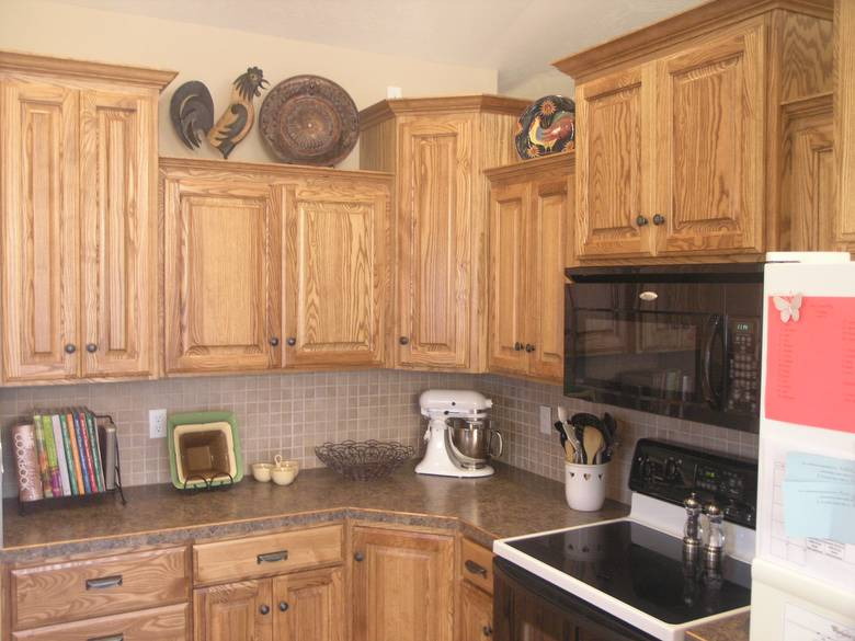 Photo 3000 ash cabinets for Ash wood kitchen cabinets