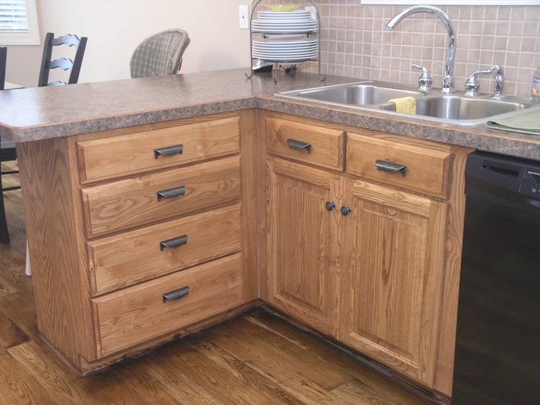 Photo 3001 ash cabinets for Ash wood kitchen cabinets