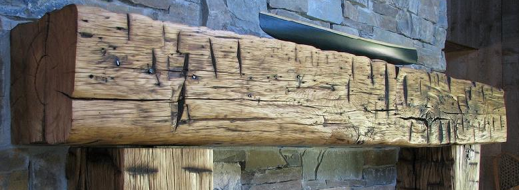 How to buy a reclaimed wood mantel post 8 for Buy reclaimed wood online