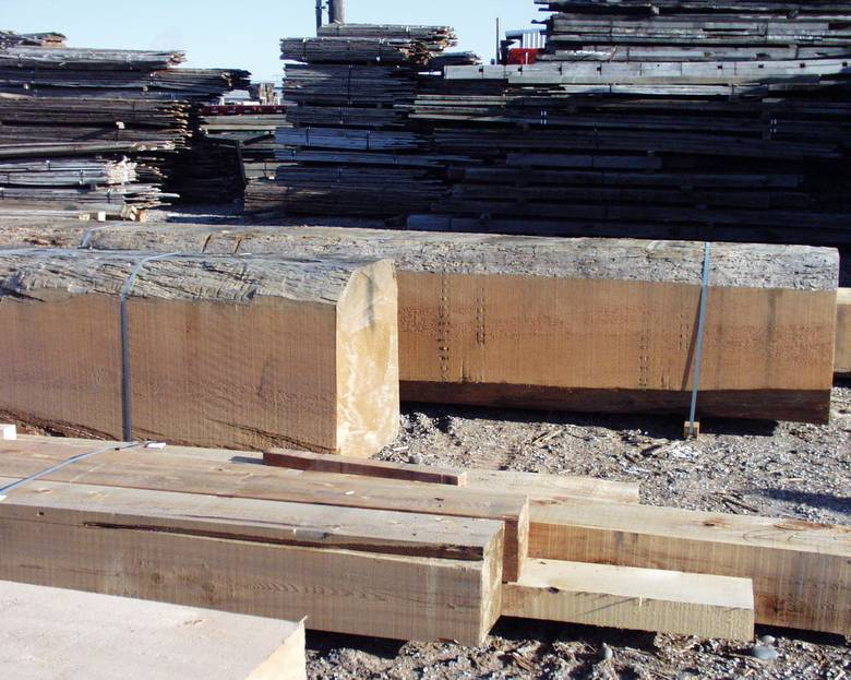 Large DF timbers