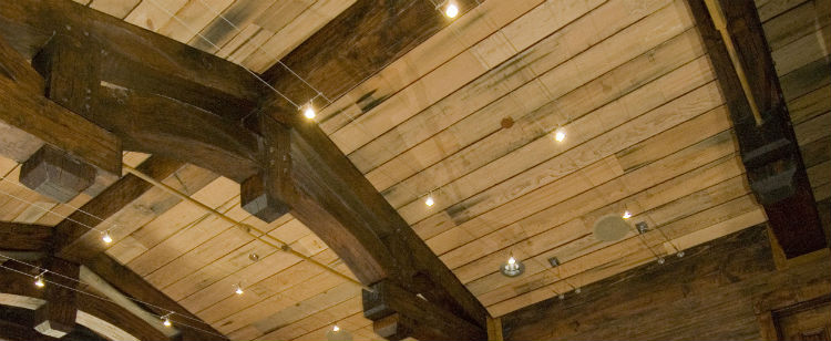 reclaimed wood ceiling - Reclaimed Wood Ceiling