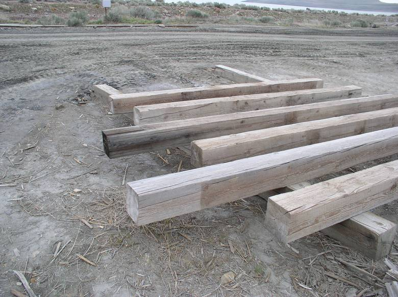 Photo 3391 weathered twii timbers for Twii