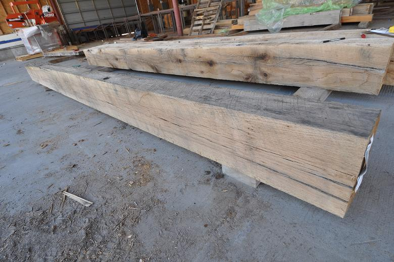 RubyOak Resawn Oak Timbers