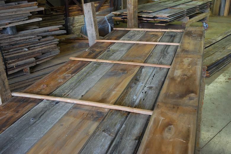 Barnwood shiplap reclaimed wood wall cladding for Reclaimed wood flooring los angeles